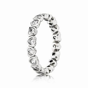 Pandora Forever More Stackable Ring, Clear CZ 190897CZ