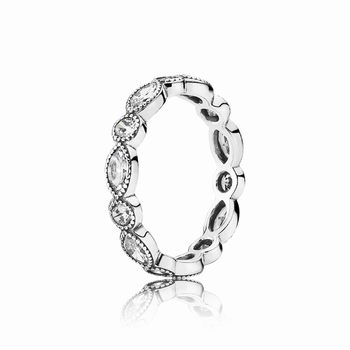 Pandora Alluring Brilliant Marquise Stackable Ring, CZ 190940CZ