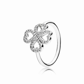 Pandora Petals of Love Ring, Clear CZ 190978CZ