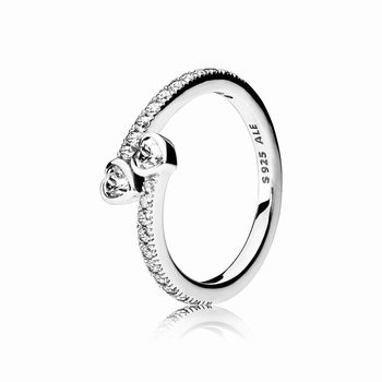 Pandora Forever Hearts Ring, Clear CZ 191023CZ
