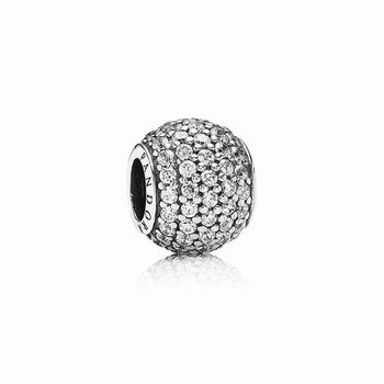 Pandora Pave Lights Charm, Clear CZ 791051CZ