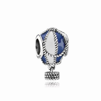 Hot Air Balloon Silver Charm - PANDORA 791145ENMX