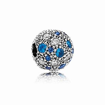 Pandora Cosmic Stars, Multi-Colored Crystals & Clear CZ 791286NS