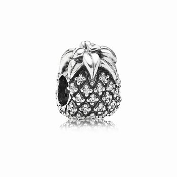 Sparkling Pineapple, Clear CZ 791293CZ