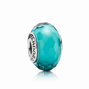 Pandora Fascinating Teal Charm, Murano Glass 791606