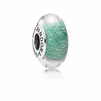 Pandora Disney, Ariel's Signature Color Charm, Murano Glass 7916