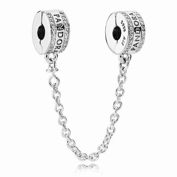 Pandora PANDORA Logo Safety Chain 792057CZ