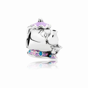 Pandora Disney, Mrs. Potts & Chip Charm, Mixed Enamel 792141ENMX